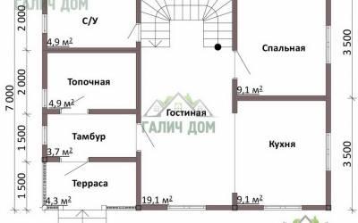 ДБ-6 _ 1. 1-й этаж