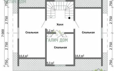 ДБ-6 _ 2. 2-й этаж