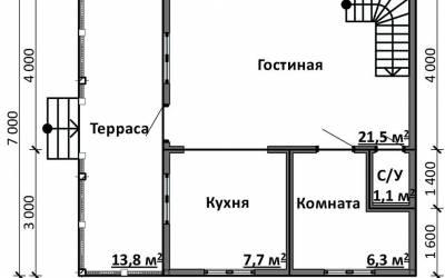 Срочный №20 _ 1. 1-й этаж