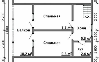 Срочный №20 _ 2. 2-й этаж