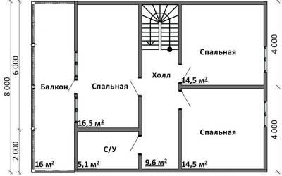 Срочный №21 _ 2. 2-й этаж