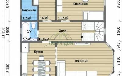 Срочный №22 _ 1. 1-й этаж