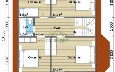 Срочный №22 _ 2. 2-й этаж