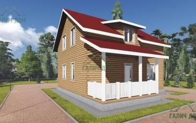 Дом из бруса 9х12