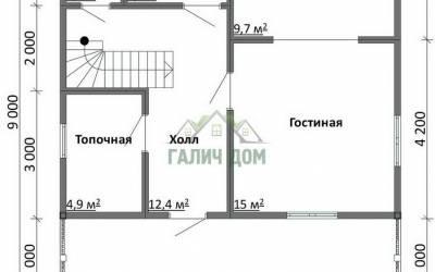 Срочный №29 _ 1. 1-й этаж