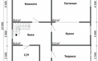Срочный №34 _ 1. 1-й этаж