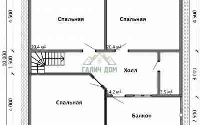 Срочный №34 _ 2. 2-й этаж (1)