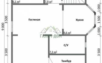 ДБ-37 _ 1. 1-й этаж