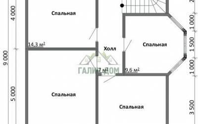 ДБ-37 _ 2. 2-й этаж