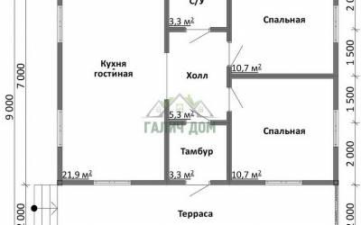 Срочный №33 _ 1. 1-й этаж