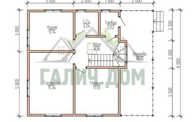 9х8 (план 1 этажа) маркер