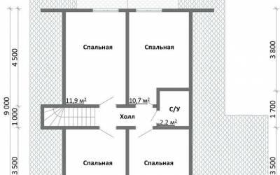 Срочный №58 _ 2. 2-й этаж