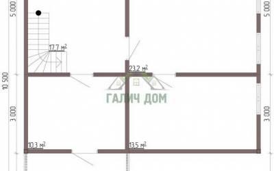 Срочный №72 _ 1. 1-й этаж