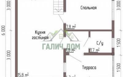 Срочный №77 _ 1. 1-й этаж