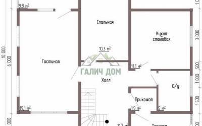 Срочный №93 _ 1. 1-й этаж