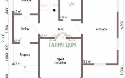 ДБ-67 _ 1. 1-й этаж (1)