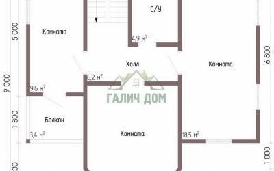 ДБ-67 _ 2. 2-й этаж (1)