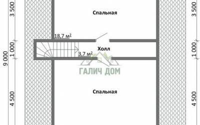 ДБ-13 _ 2. 2-й этаж