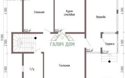 ДБ-42 _ 1. 1-й этаж