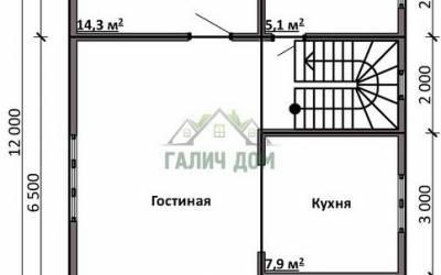 ДБ-15 _ 1. 1-й этаж