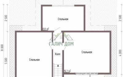 ДБ-43 _ 2. 2-й этаж