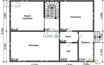 ДБ-16 _ 1. 1-й этаж