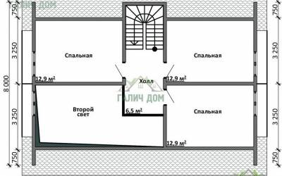 ДБ-16 _ 2. 2-й этаж