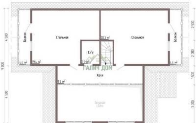ДБ-45 _ 2. 2-й этаж