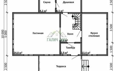 ДБ-17 _ 1. 1-й этаж