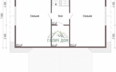 ДБ-46 _ 2. 2-й этаж