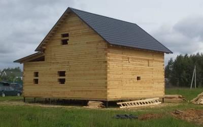 Готовый дом из бруса 8х10
