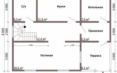 в2.1-й этаж
