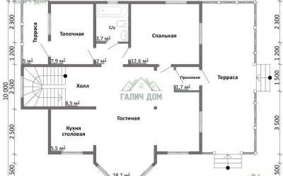 ДБ-47 _ 1. 1-й этаж