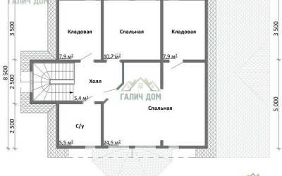 ДБ-47 _ 2. 2-й этаж