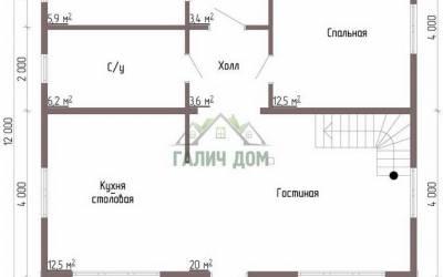 ДБ-48 _ 1. 1-й этаж