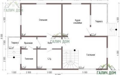 ДБ-50 _ 1. 1-й этаж