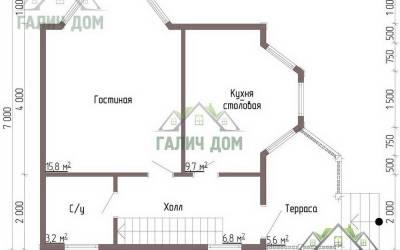 ДБ-41 _ 1. 1-й этаж