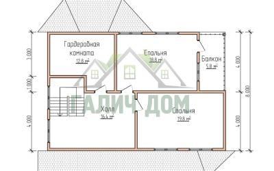 12х11(план 2 этажа маркер)