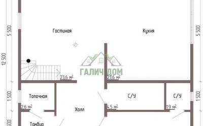 ДБ-56 _ 1. 1-й этаж