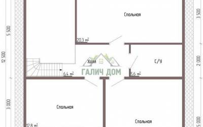 ДБ-56 _ 2. 2-й этаж