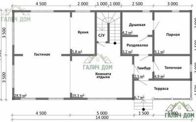 ДБ-19 _ 1. 1-й этаж