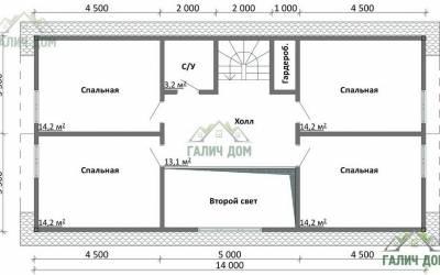 ДБ-19 _ 2. 2-й этаж