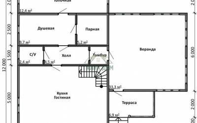 ДБ-20 _ 1. 1-й этаж