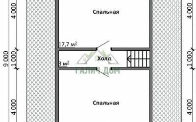ДБ-20 _ 2. 2-й этаж