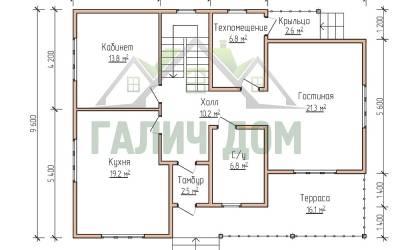 12х9 (план 1 этажа маркер)