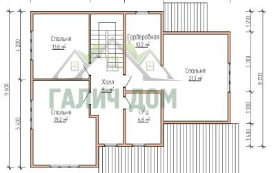 12х9 (план 2 этажа маркер)