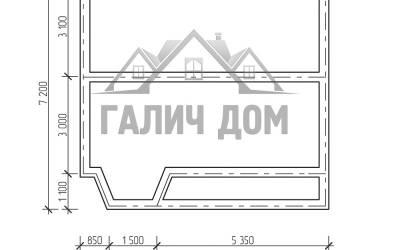 7х7,5( маркер план фундамента)