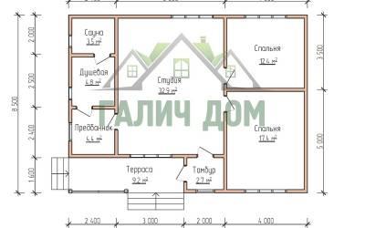 11,4х10,5 (маркер план этажа)