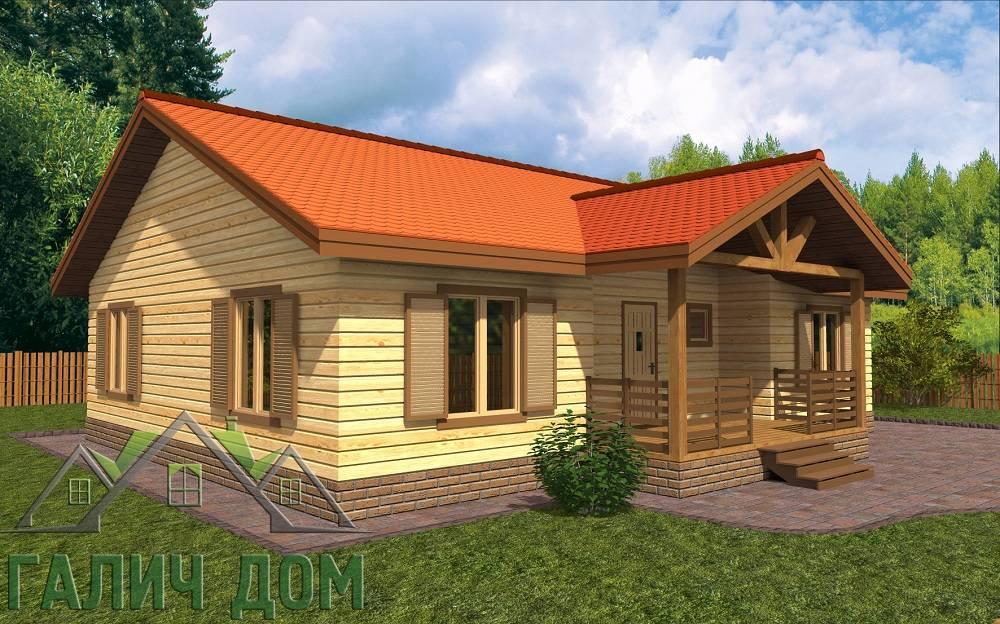 Дома из бруса под ключ недорого проекты и цены в Москве и