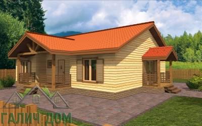 Проект дома из бруса 10х12 (маркер2)